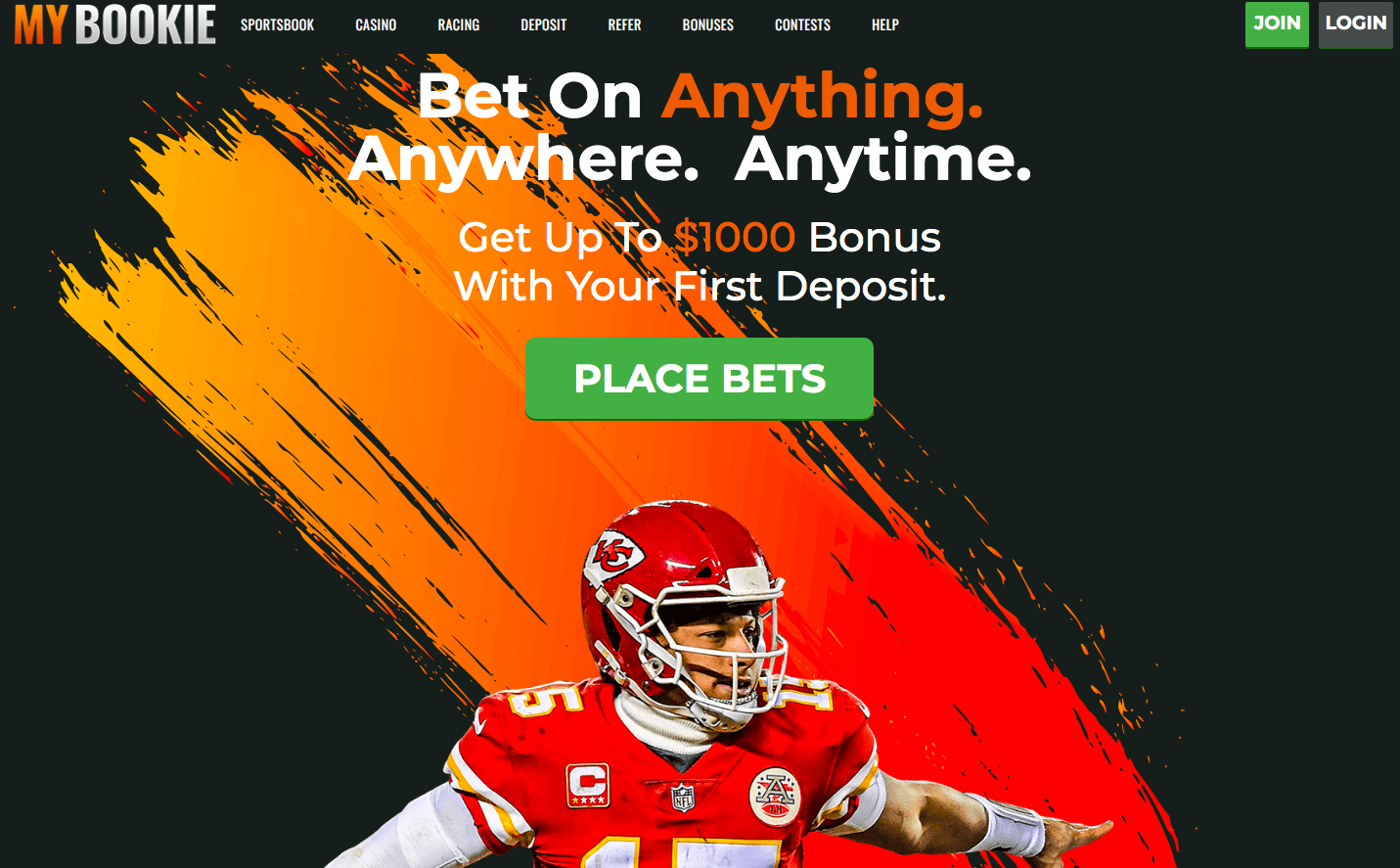 main page MyBookie