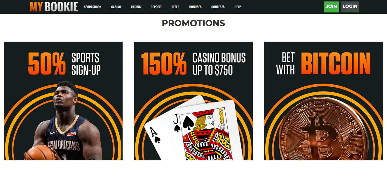 promotions MyBookie