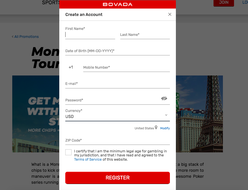 Bovada Referral